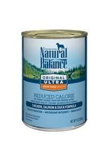 Natural Balance Natural Balance ultra reduced calorie chx salmon duck 13oz dog