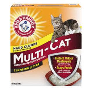 Arm & Hammer A&H Multi-Cat Clumping Litter 12.7KG