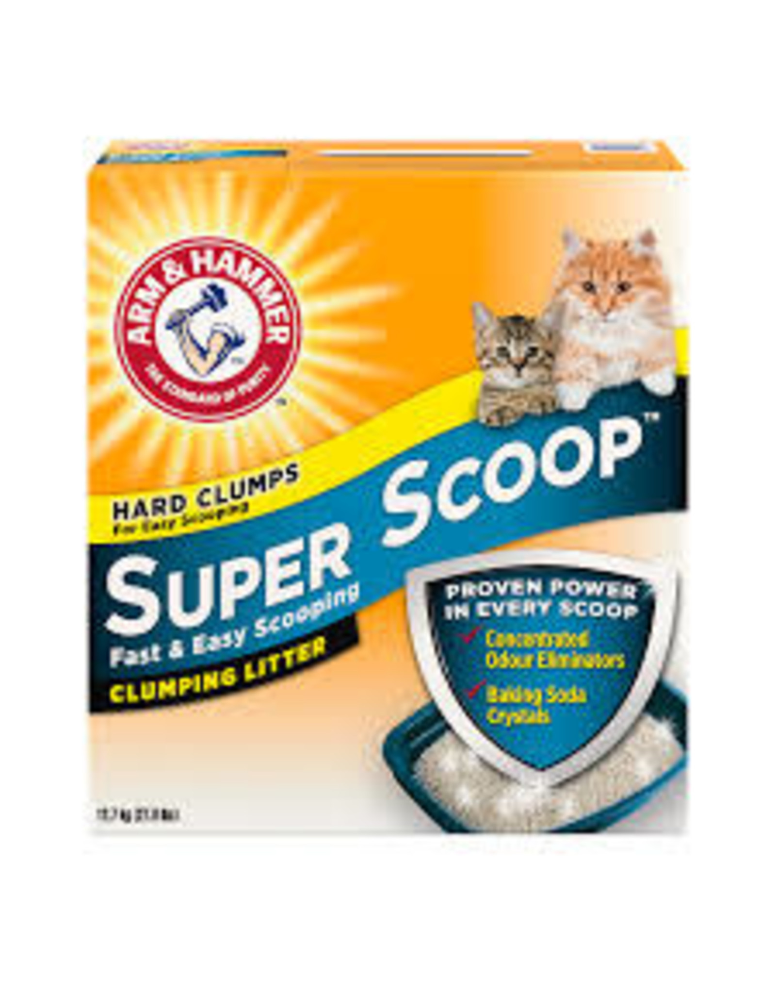 A&H Super Scoop Clumping Litter Scented 12.7KG