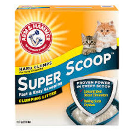 Arm & Hammer A&H Super Scoop Clumping Litter Scented 12.7KG