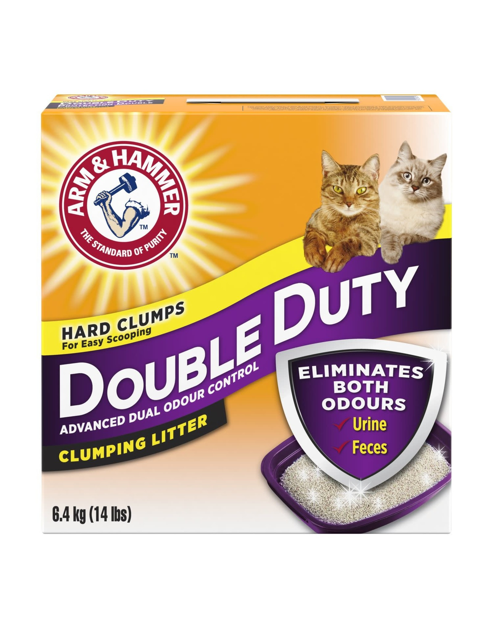A&H Double Duty Clumping Litter 6.4KG
