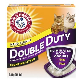 Arm & Hammer A&H Double Duty Clumping Litter 6.4KG