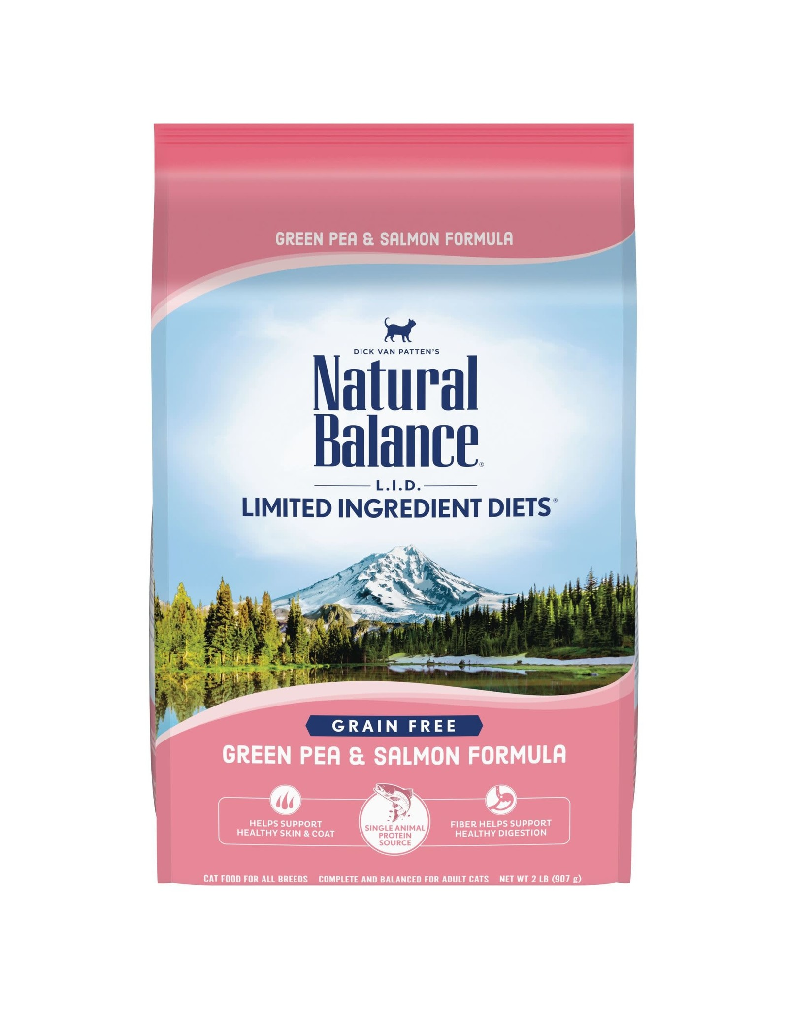 Natural Balance Natural Balance Cat - LID Green Pea/Salmon 5lb