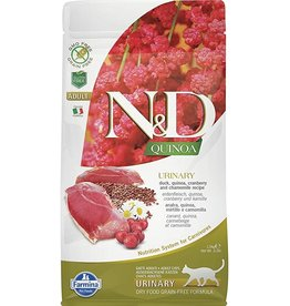 Farmina N&D Cat - Urinary Quinoa Duck & Cranberry, Adult, 11lb