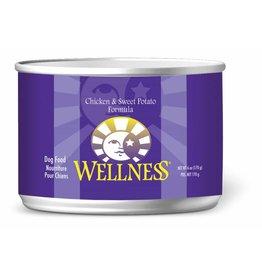 Wellness Wellness Dog Wet Chicken/Sweet Potato 6oz