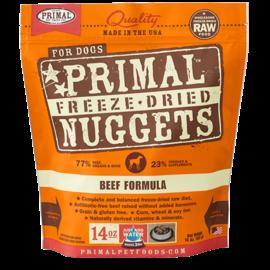 Primal Primal Dog - Freeze Dried Nuggets Beef 14oz