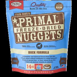 Primal Primal Dog Freeze Dried Nuggets- Duck 14oz