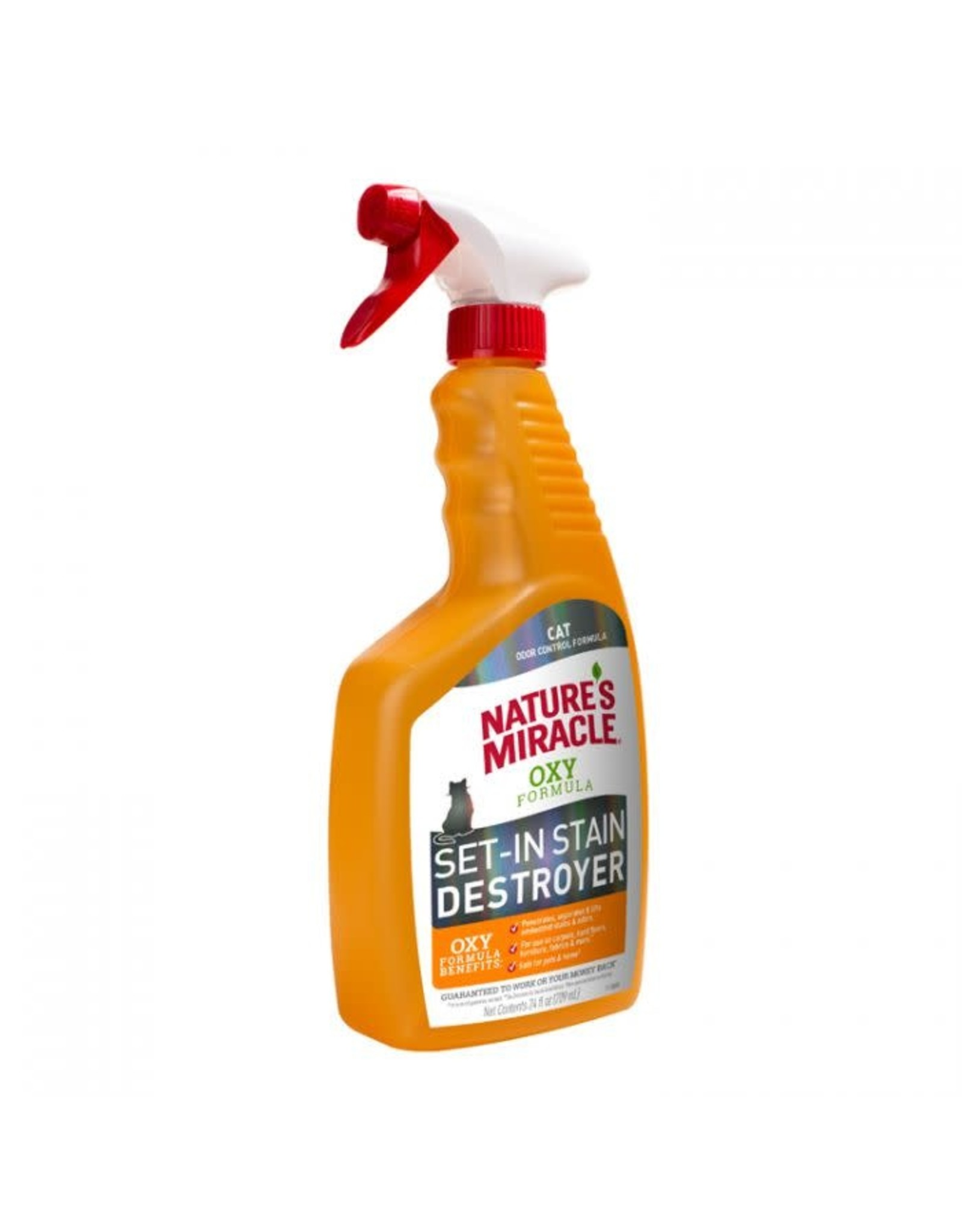 natures miracle NM Stain & Odor Oxy Formula Spray 24OZ