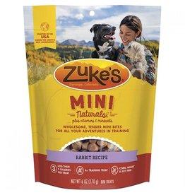 Zukes Zukes Dog Mini Treats Rabbit 6oz