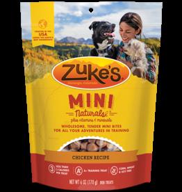 Zukes Zuke's Dog Mini Treats CHICKEN 6oz
