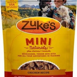 Zukes Zuke's Dog Mini Treats - Chicken 16oz