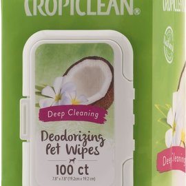Tropiclean TropiClean Deep Cleaning Wipes 100ct