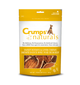 crumps 5.6oz. Sweet Potato & Liver Chips