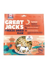 Great Jacks Freeze Dried Raw Salmon 396g