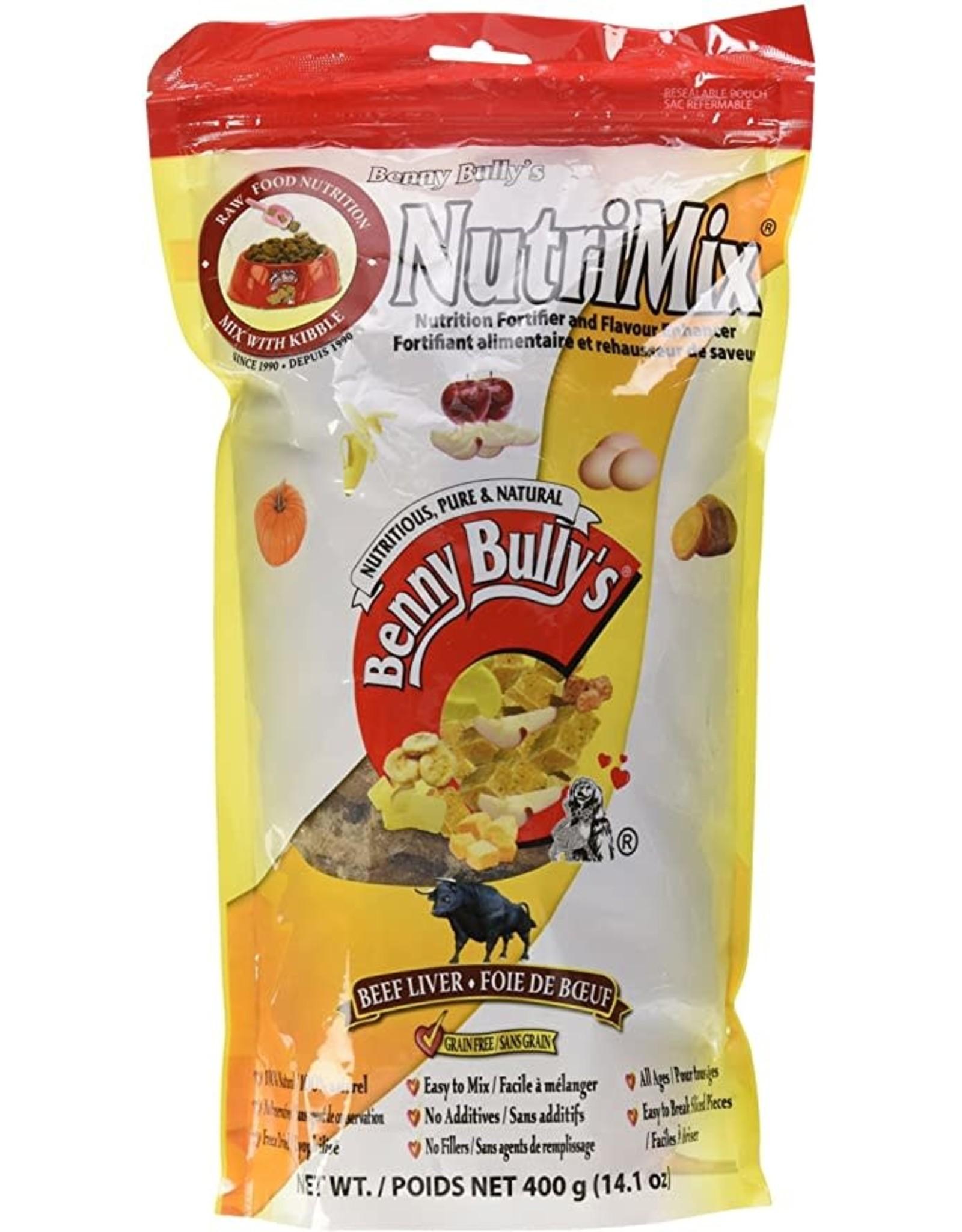 Benny Bully's Benny Bully's Dog Liver NutriMix 400g