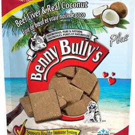 Benny Bully's Benny Bully's Dog Liver Treats w/ Coconut 58g
