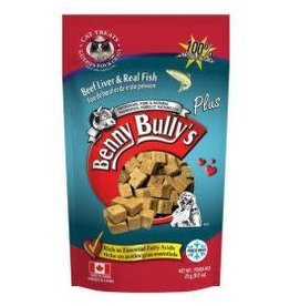 Benny Bully's Benny Bully's Cat Beef Liver Fish 25g