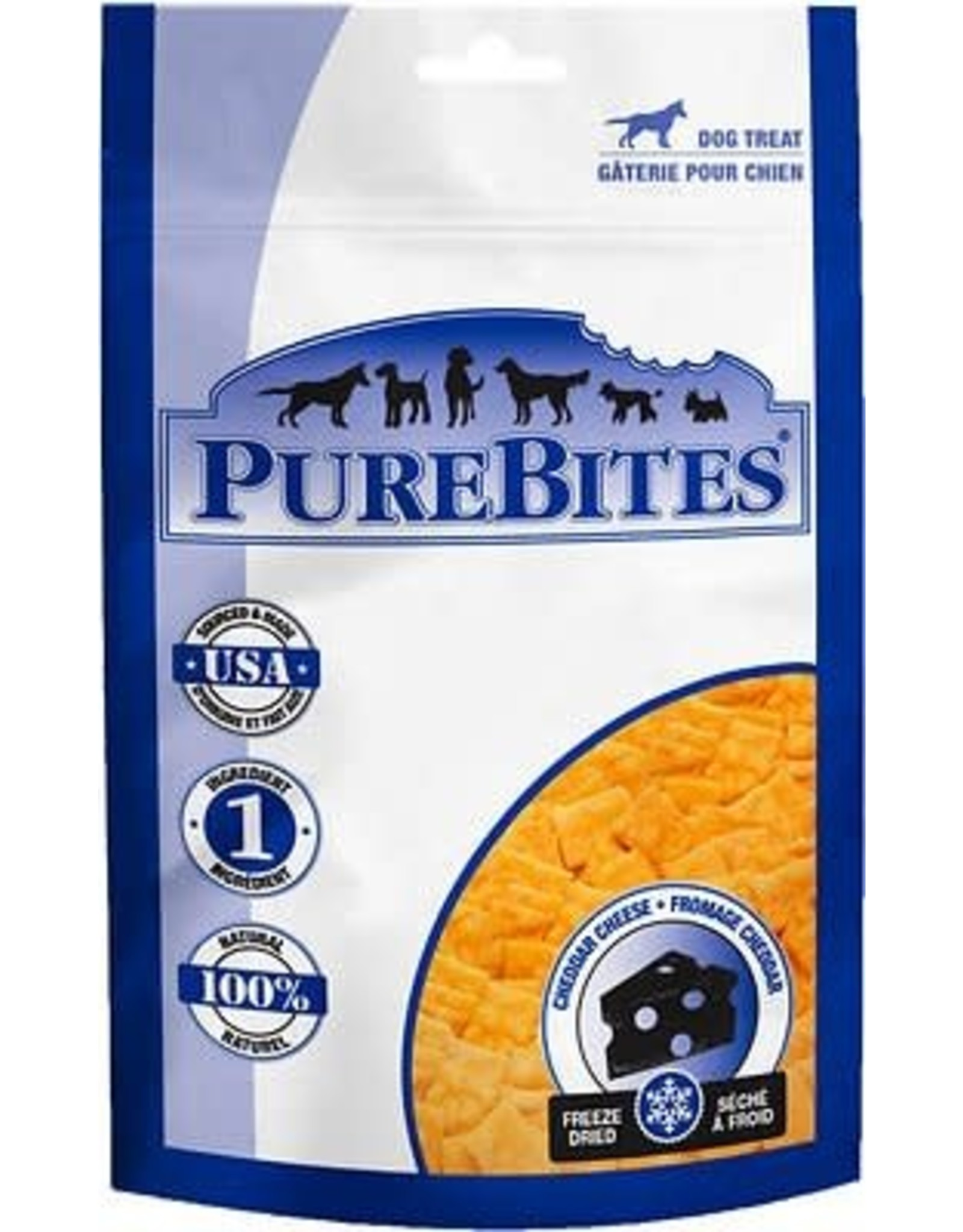 Pure Bites Purebites Cheddar Cheese 57 G