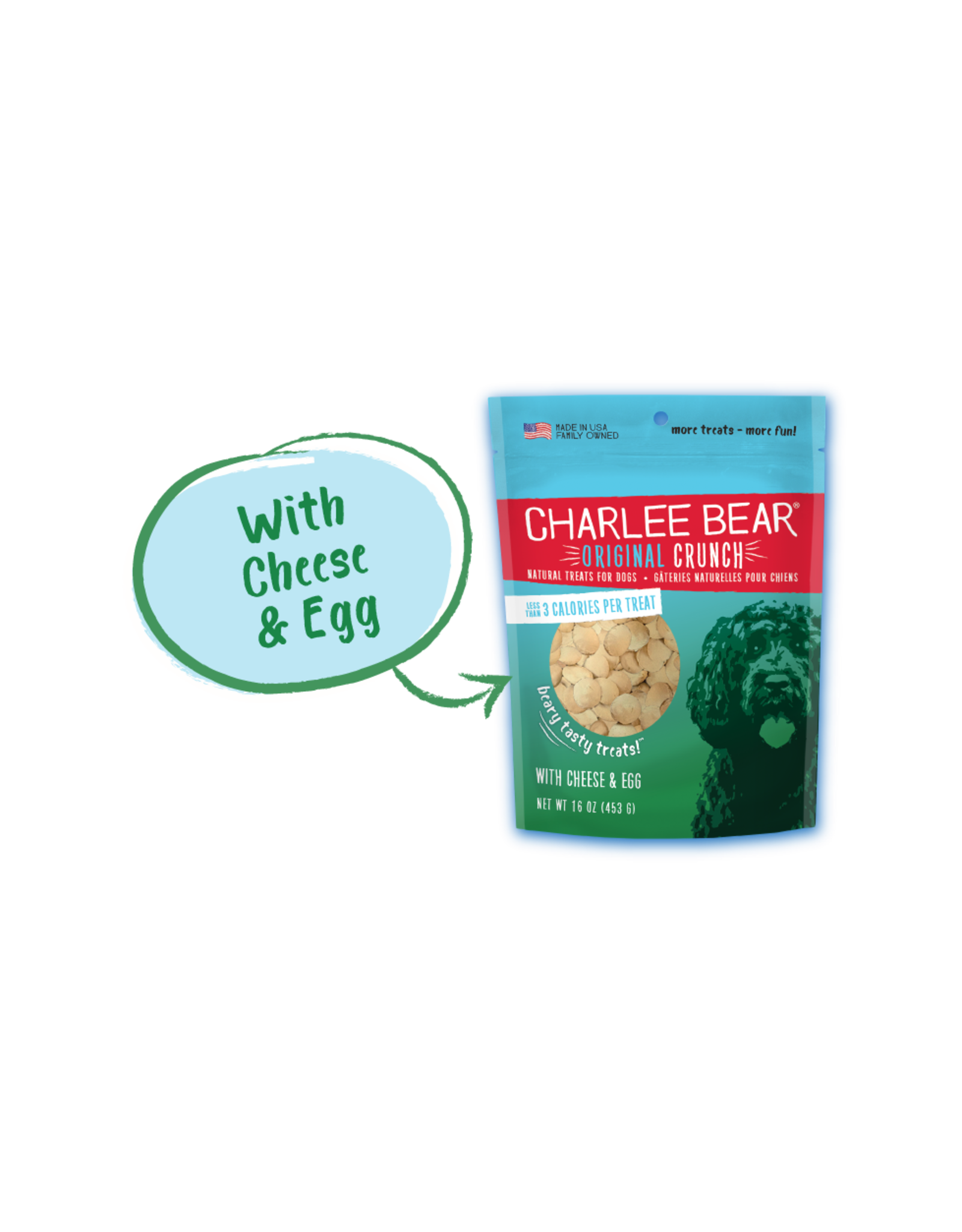 Charlee Bear Cheese Egg 16 OZ