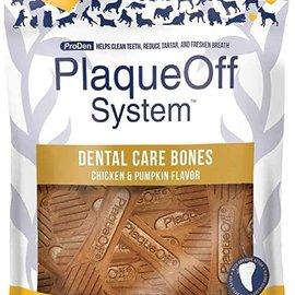 plaqueoff Plaque Off Chicken & Pumpkin Dental Bones 17oz