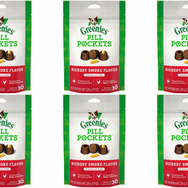 Greenies Greenies Pill Pockets Tablet Size Hickory Smoke 3.2oz 30CT
