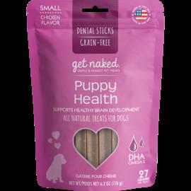 Get Naked Get Naked Puppy Health Small Dental Sticks Chicken 6.2oz