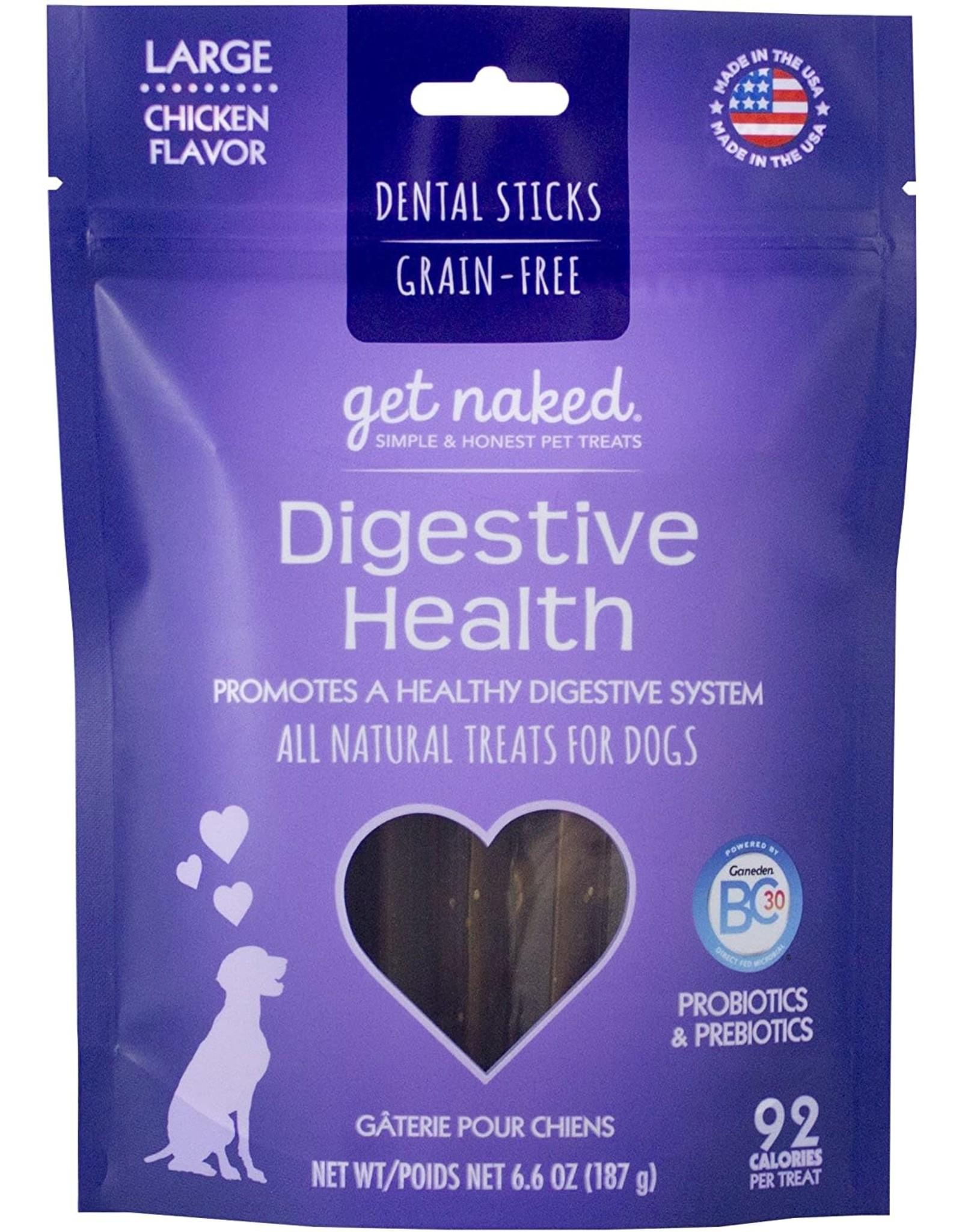 Get Naked Digestive Health LARGE Dental Bones