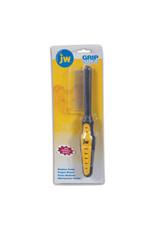 JW Grip Soft Fine Comb dog