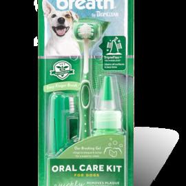 Tropiclean Fresh Breath Oral Care Kit 3pc