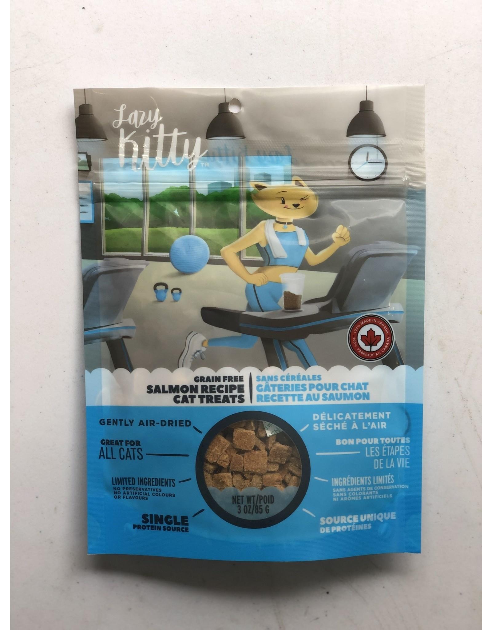 Lazy Kitty Air Dried Treat Slm 3oz/85g