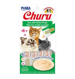 Inaba Inaba Churu Tuna with Chicken 4 x 14g