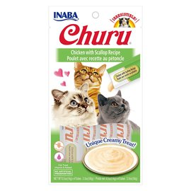 Inaba Inaba Churu Chicken w/ Scallop 4x14g