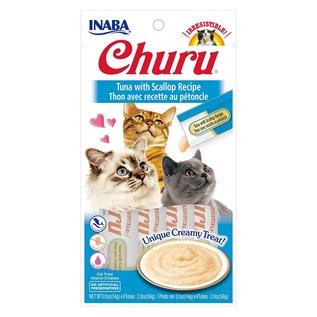 Inaba Inaba Churu Tuna w/ Scallop 4x14g