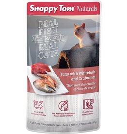 SNAPPY TOM Snappy Tom Pouch - Tuna/Whitebait/Crab 100g