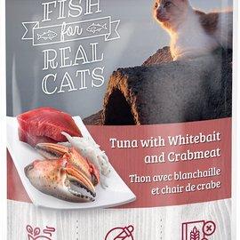 SNAPPY TOM Snappy Tom Tuna/Whitebait/Crab 100g Pouch