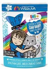 Weruva BFF OMG pouch - CIAO BABY chicken/shrimp 2.8oz