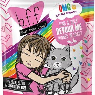 "Weruva BFF CAT OMG Pouch - ""DEVOUR ME"" Tuna & Duck 3oz"