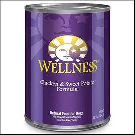 WELLPET Wellness Dog - Chicken/Sweet Potato 12.5oz