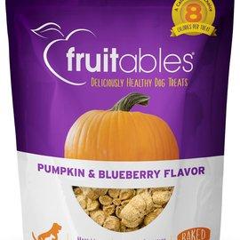 Fruitables Fruitables Dog Treats - Pumpkin & Blueberry 7oz