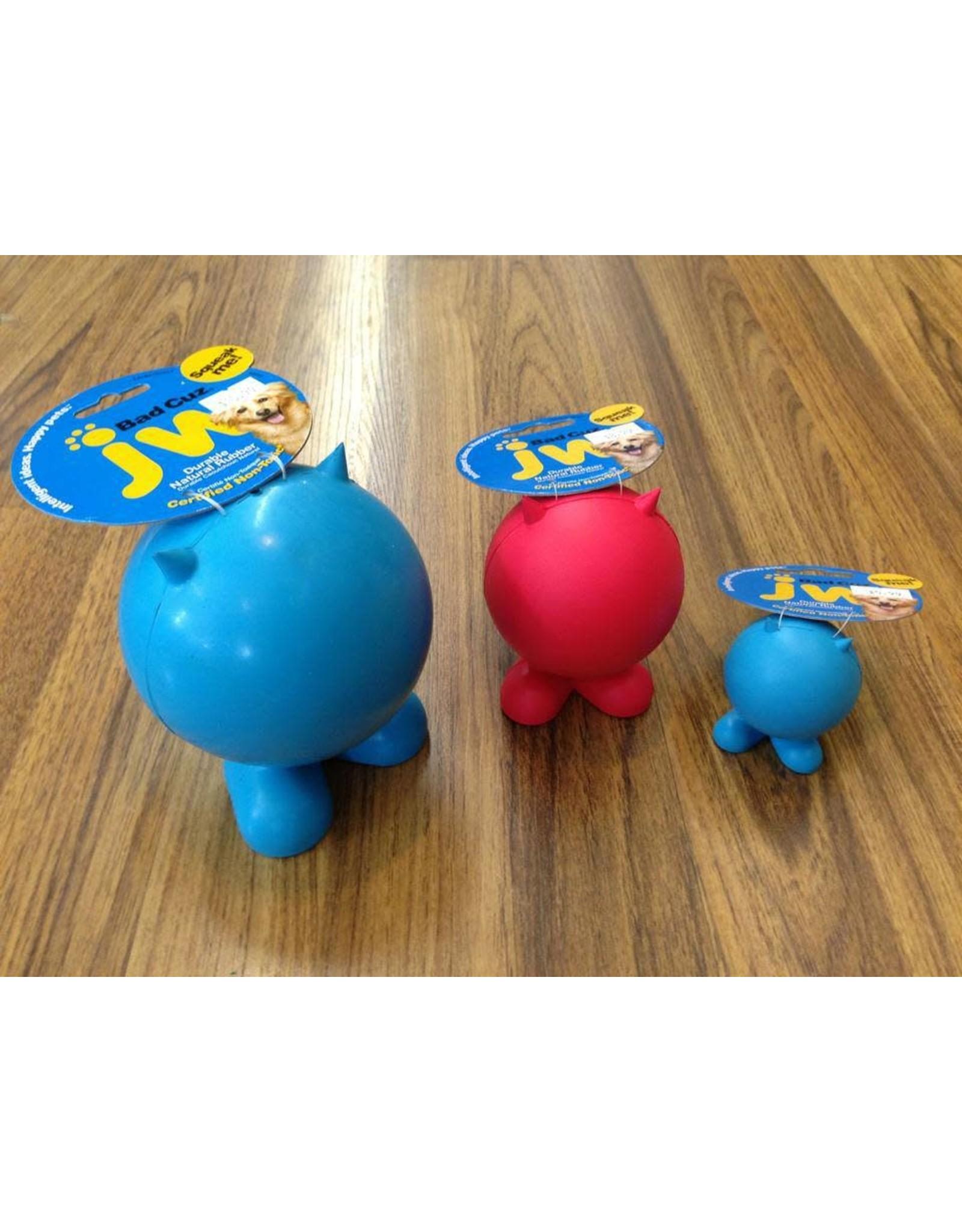 Lge Rub.Bad Cuz squeak dog toy