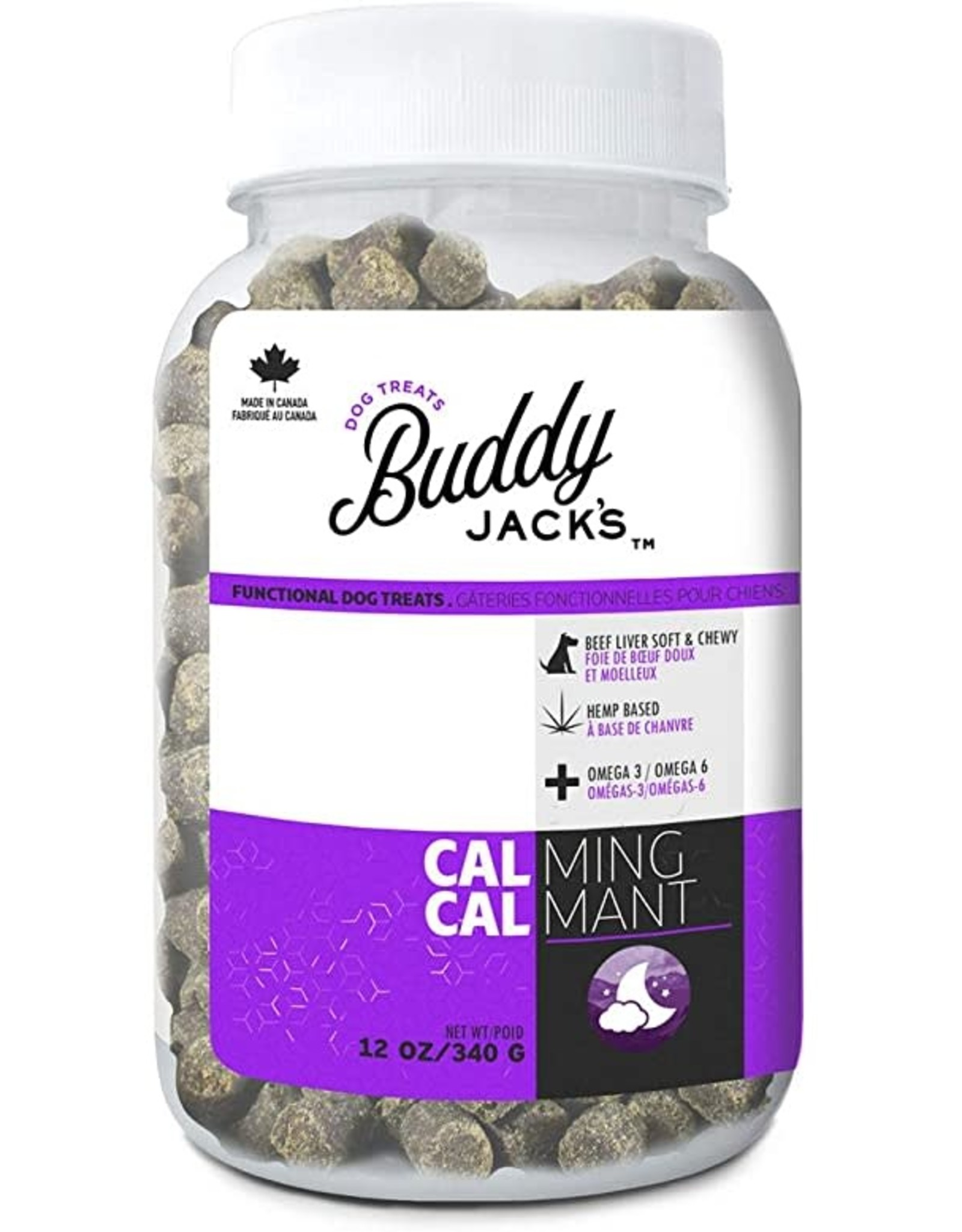 Buddy Jacks - Dog Calm+Brain 12oz