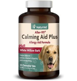 NATUREVET NATURVET \ Aller-911 \ Calming Aid Plus Tabs 30ct