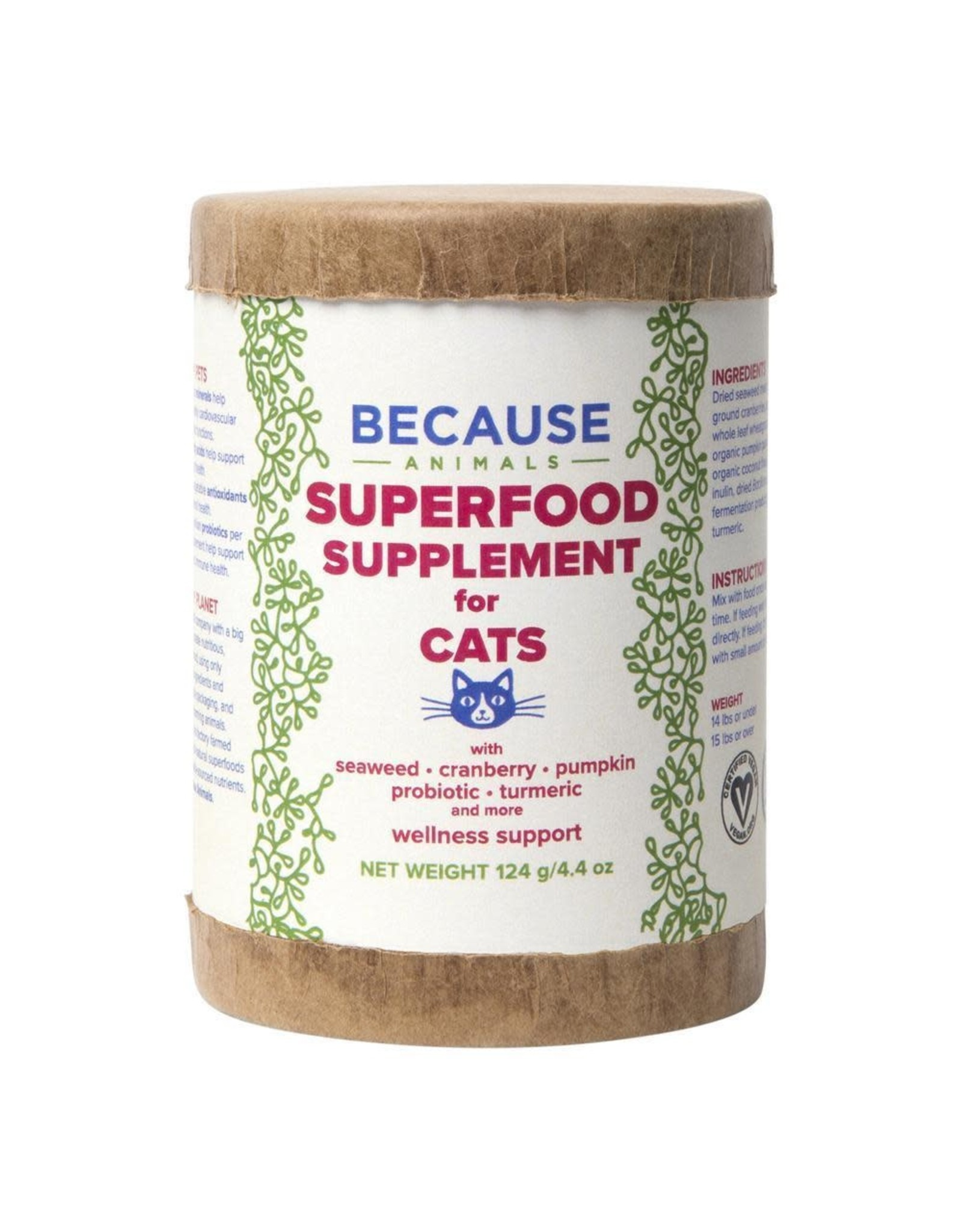 BECAUSE ANIMAL Cat supplements