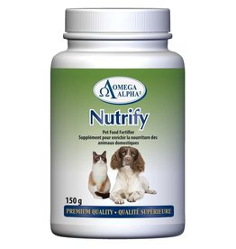 OMEGA AND ALPHA omega alpha nutrify 150g
