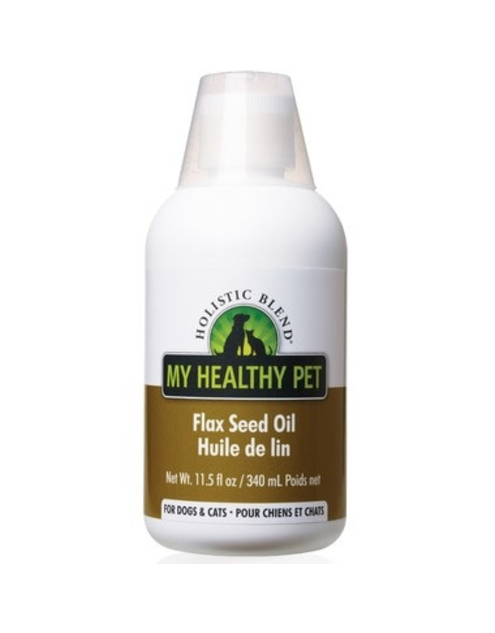 HOLISTIC BLEND My Healthy Pet - Flax Seed Oil 11.5oz