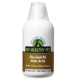 HOLISTIC BLEND my healthy pet flax seed oil 11.5fl oz