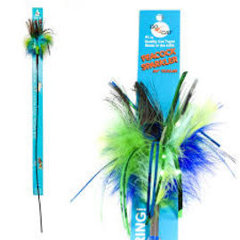 Go Cat Products GO CAT Long Peacock Sparkler 36in