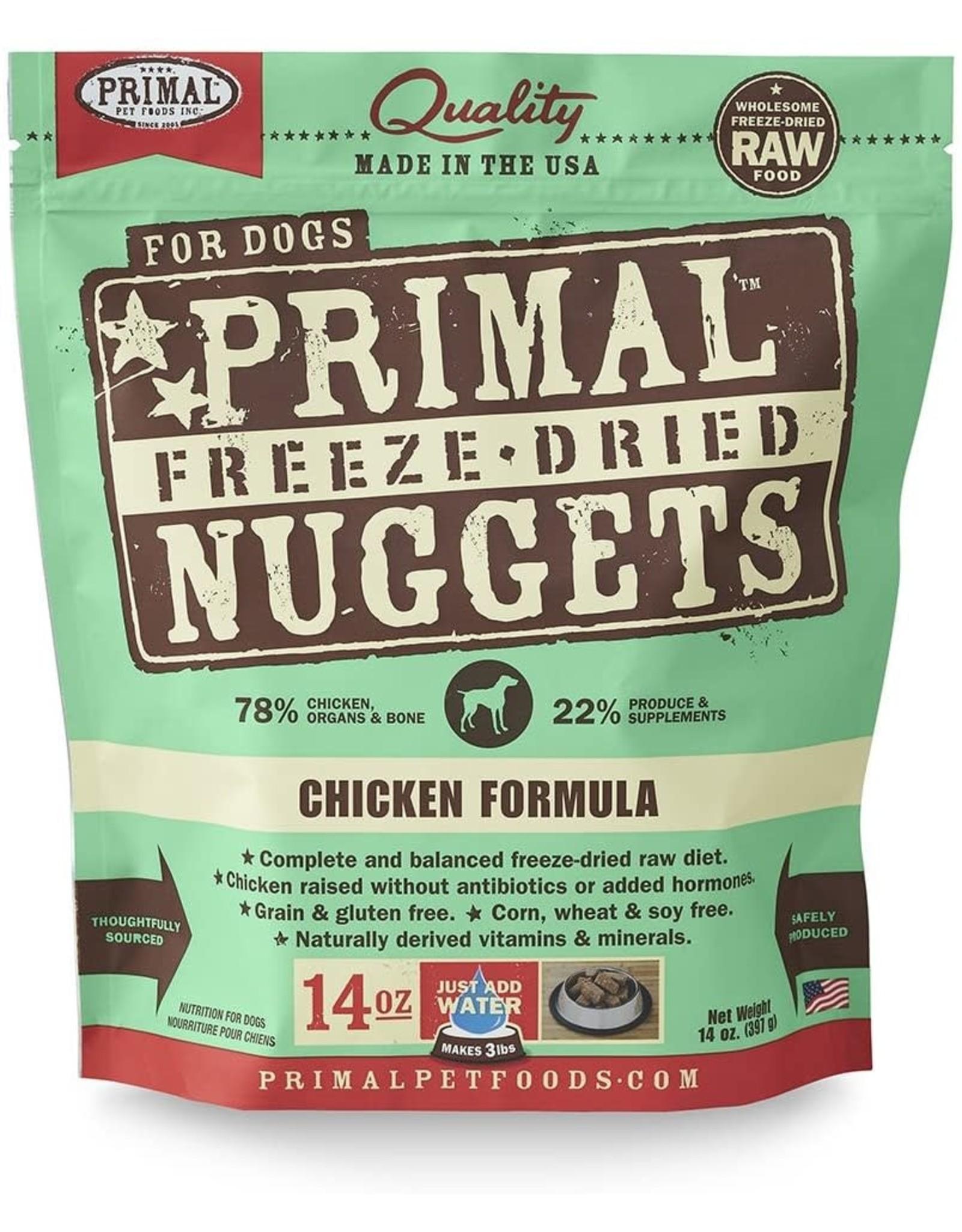 Primal Primal Dog - Chicken 14oz