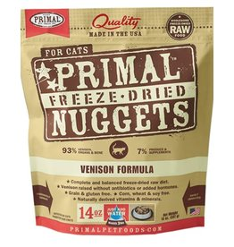 Primal PRIMAL Dog Freeze dried VENISON 14OZ