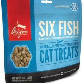 Orijen Orijen FD Cat Treats Six Fish 35g